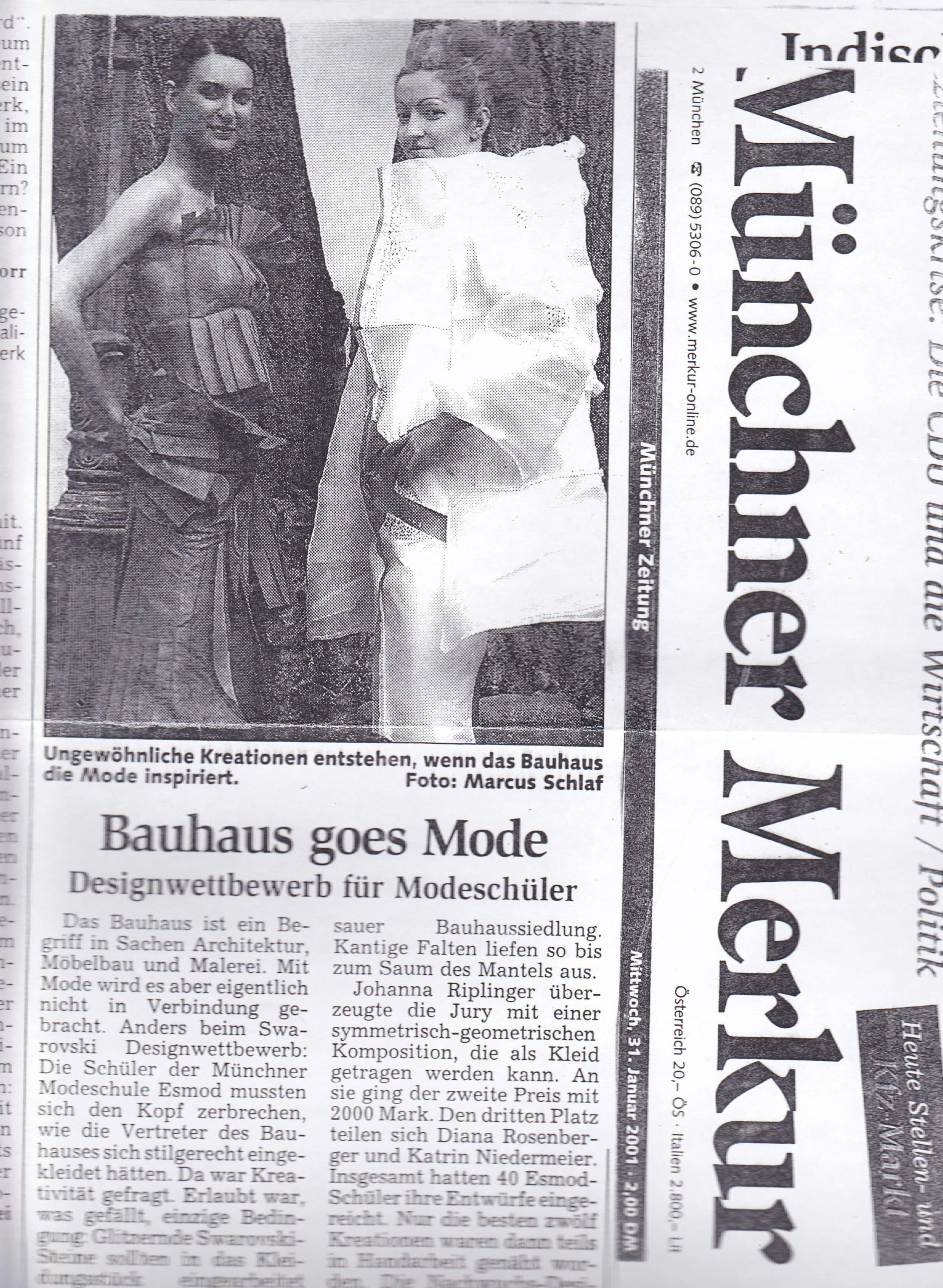 Presse - Artikel im Münchner Merkur