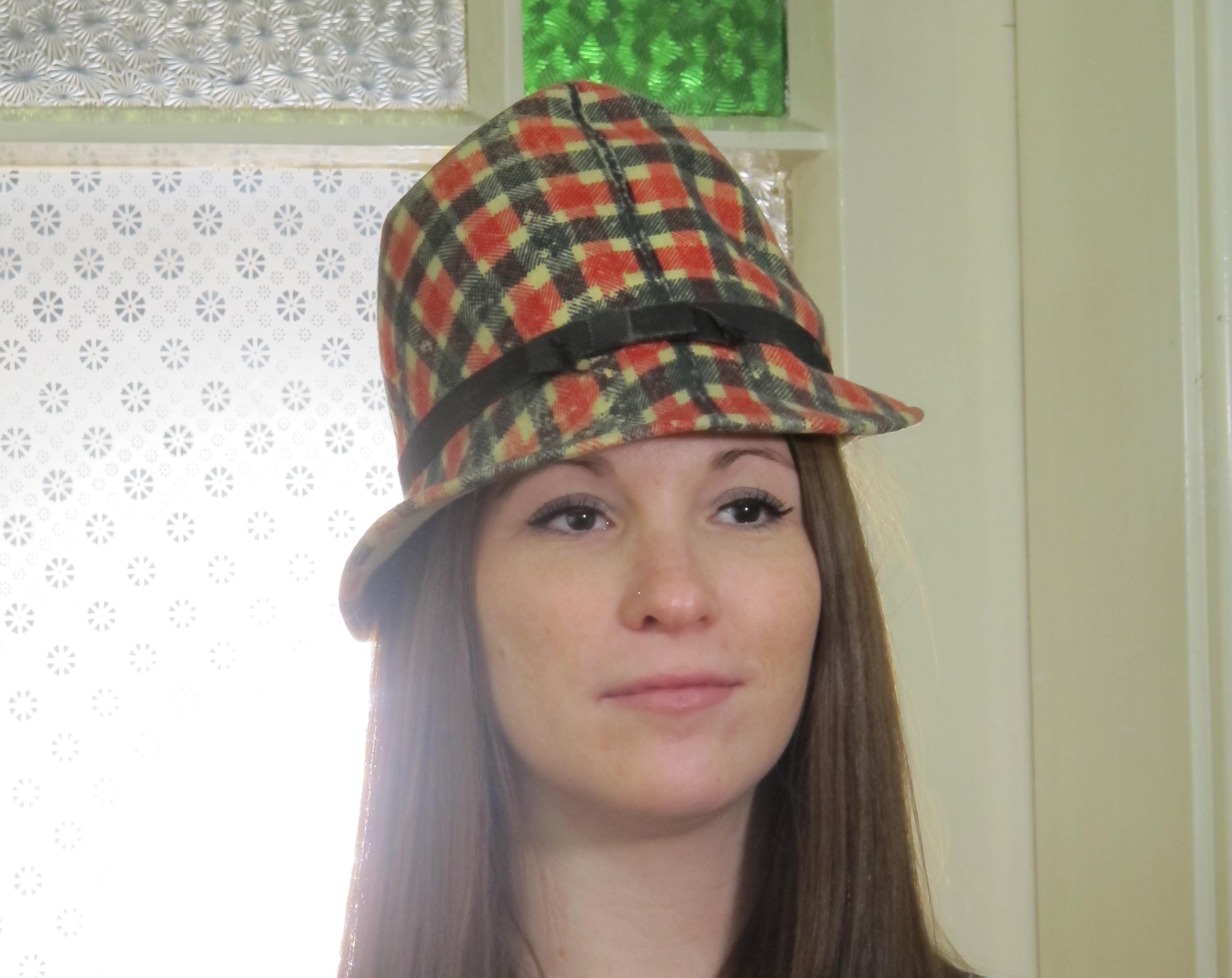 Hat, worn by model Sabine