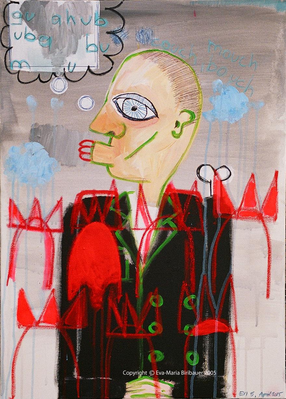 Mann mit drei Lippen 2005