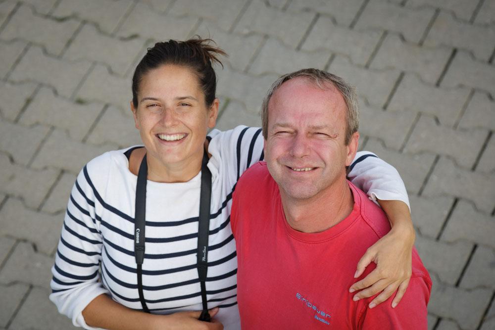 Familienbetrieb, Eva-Maria und Onkel Joe