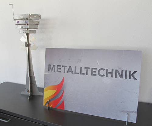 Metalltechnik sign