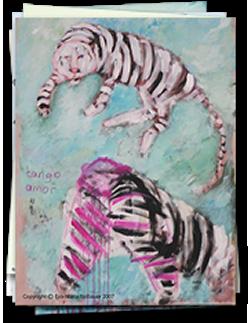 Tiger sucht Schirm <br> 2007